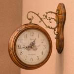로망스양면시계-한지앤틱