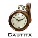 쿠페아 월넛 친환경 원목 양면시계[일반무브먼트/무소음무브먼트 선택 가능]