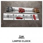 림피드와이드벽시계[CH-051] - 시계+스틱