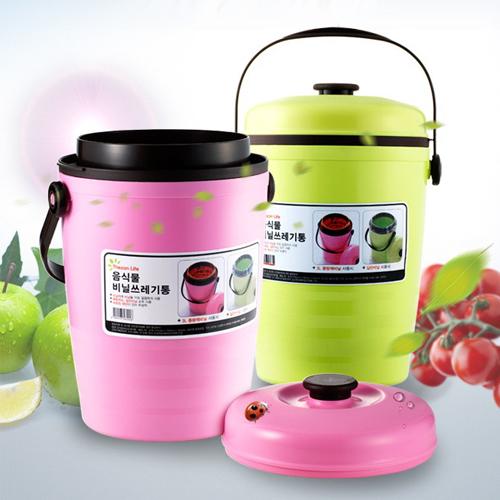 음식물 비닐쓰레기통/씽크대 쓰레기통 (3L)