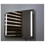 인스미러(LED조명거울) GCI8060W2-R / 1200*800 스위치 2단, LED 2구